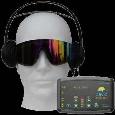 DAVID Delight Plus - психо-релакс апарат със светлинно-звукови импулси (А.В.У.)